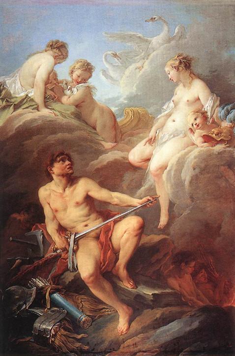 Venus Demanding Arms of Vulcan
