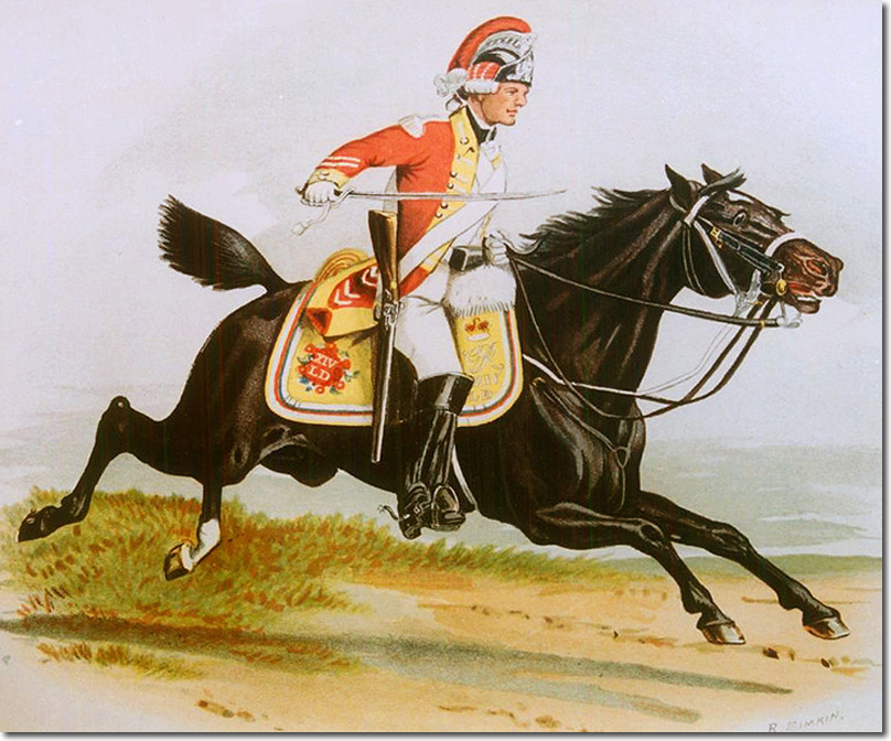 Sketch of a Light Dragoon