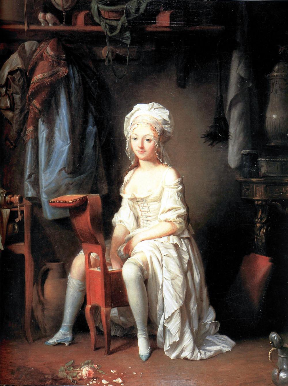 La Toilette Intime by Louis-Léopold Boilly, circa 1785