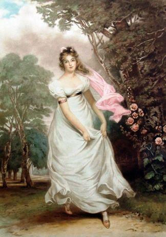 Painting of Maria Foote (future Countess of Harrington)