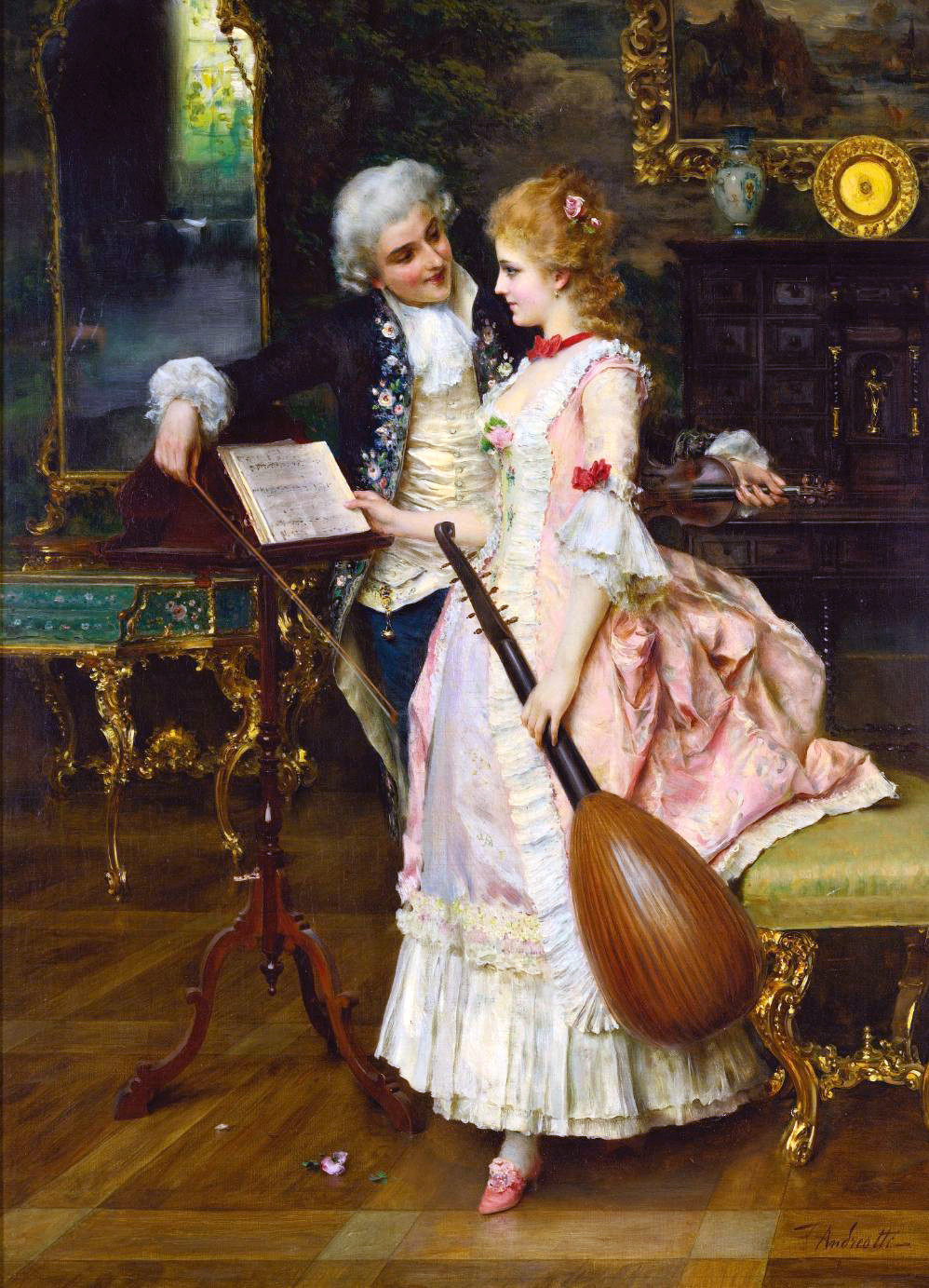 The Interlude by Frederico Andreotti