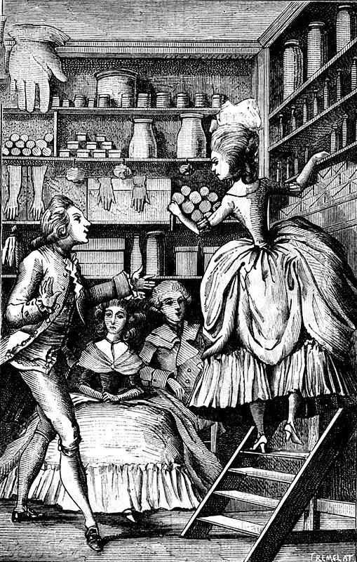 Sketch of a Perfume Merchant