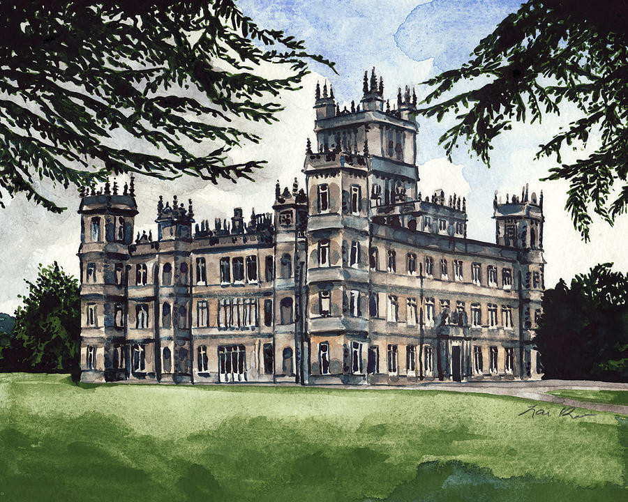 Painting of Highclere
