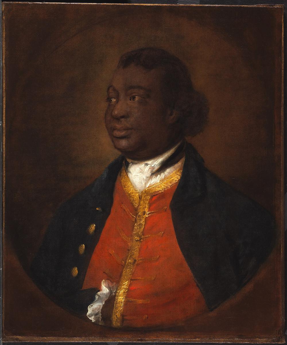 Painting of Ignatius Sancho by Thomas Gainsborough