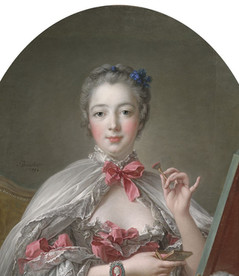 Hairstyles 1750s