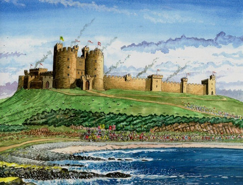 Dunstanburgh Artwork