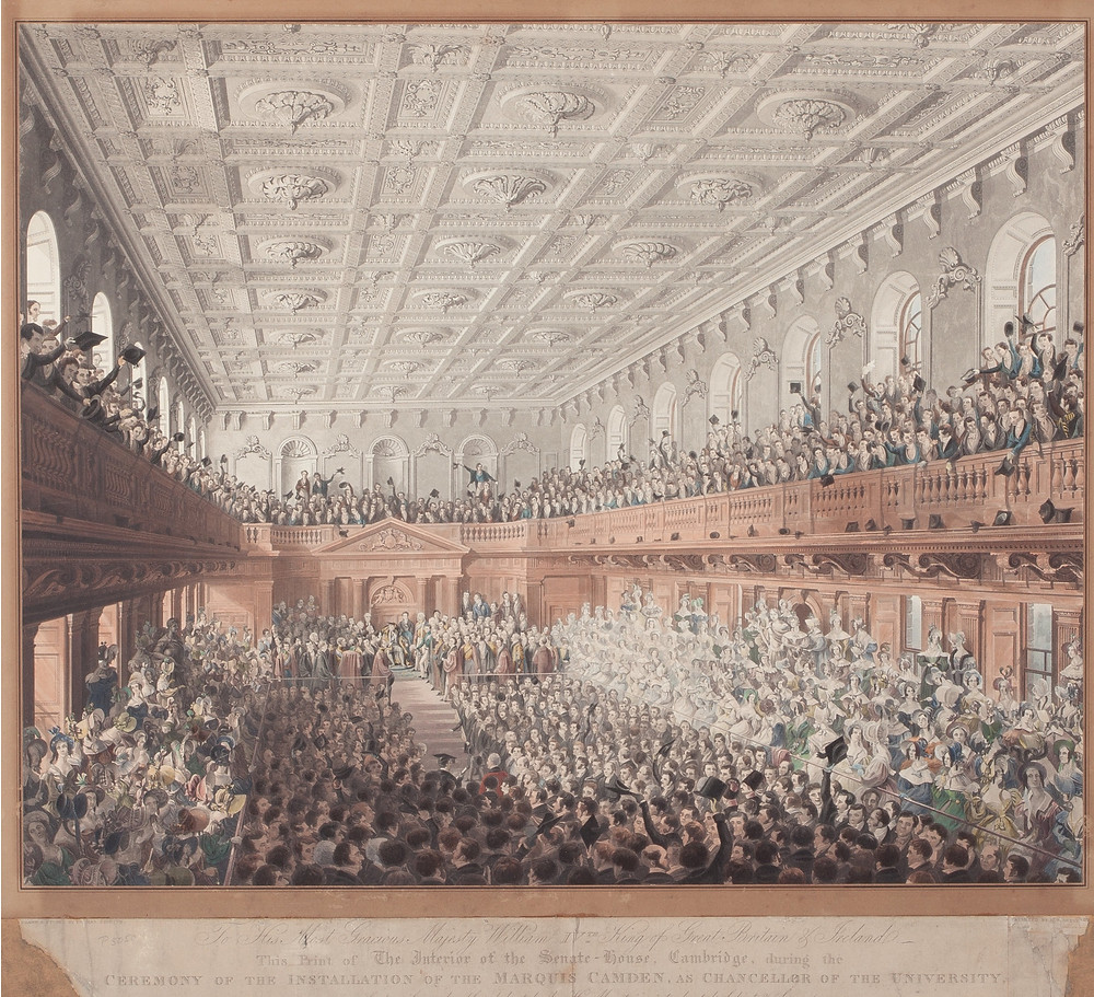 Senate House, Cambridge by Dennes Dighton