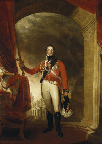 Painting of Arthur Wellesley, 1st Duke of Wellington by Sir Thomas Lawrence, 1814