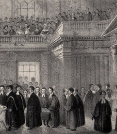University Life in the 18th century