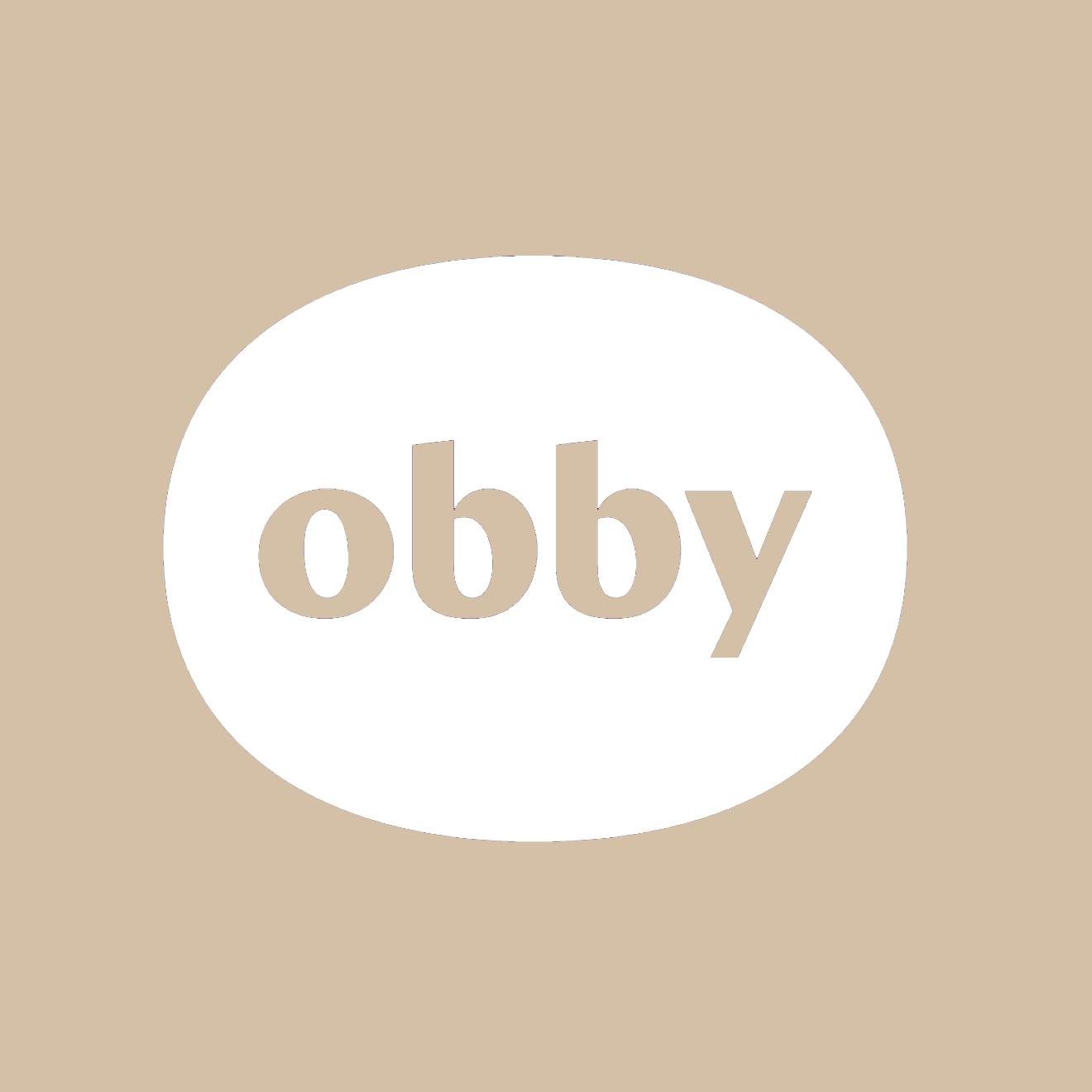 Obby Logo - square beige