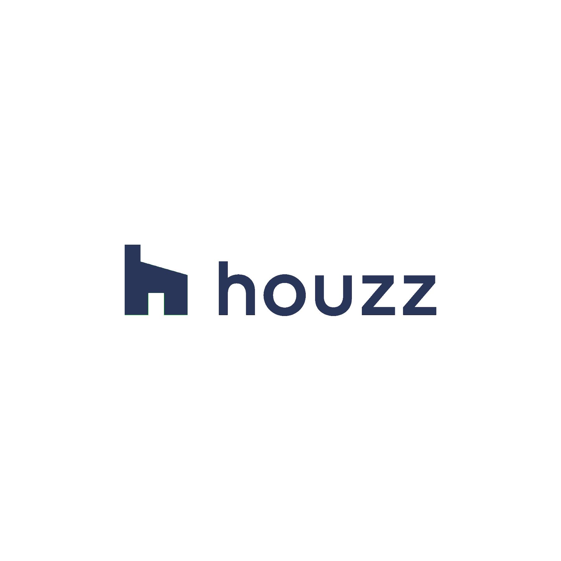 Houzz logo - Landed blue
