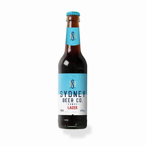 Sydney Beer Co Lager Bottles 330mL (case of 24)