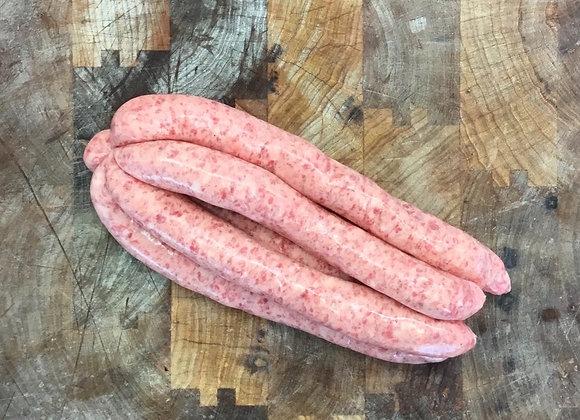 Thin Pork Sausages