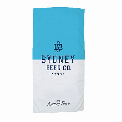 Sydney Beer Co. Beach Towel