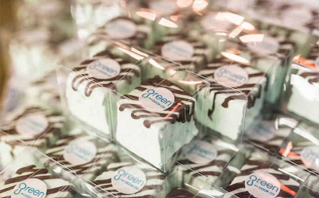 Corporate branded marshmallows