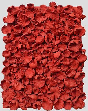 Frans Krajcberg, composition rouge