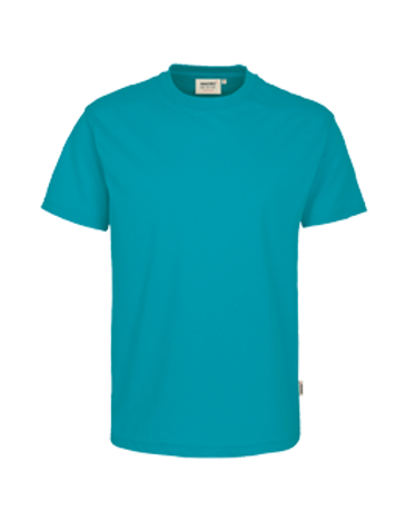 T-Shirt Rund-Hals smaragd for men