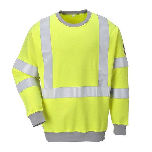 Flammhemmendes antistatishes Warnschutz Sweatshirt
