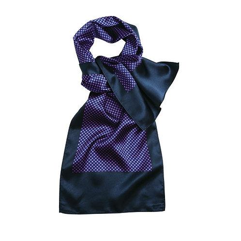 Foulard navy/purple