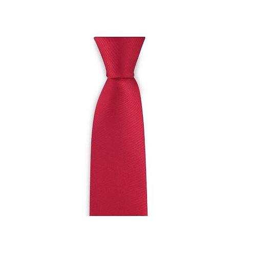 Krawatte 6cm rot