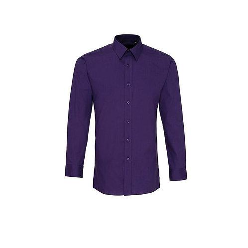 Hemd ohne Brusttasche Purple
