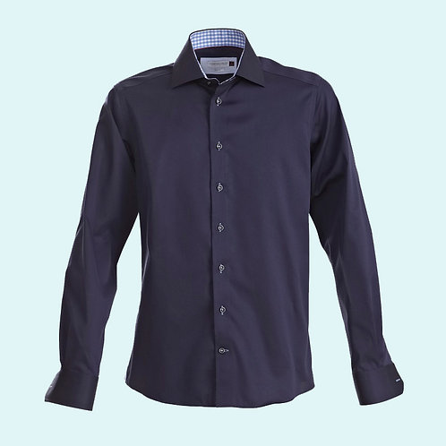 Men's regular fit 20 shirt Red Bow collection navy/sky blue
