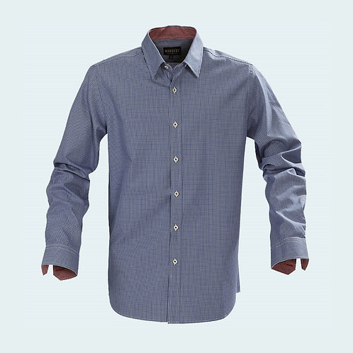 Brighton Checked Shirt Blue Check