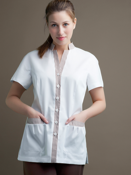 Unisex Short Sleeve Tunic