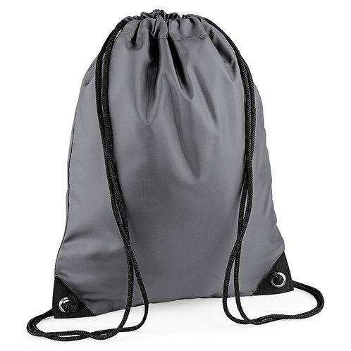 BagBase Gymsac Graphite Grey