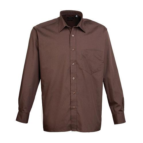 Hemd POPLIN brown