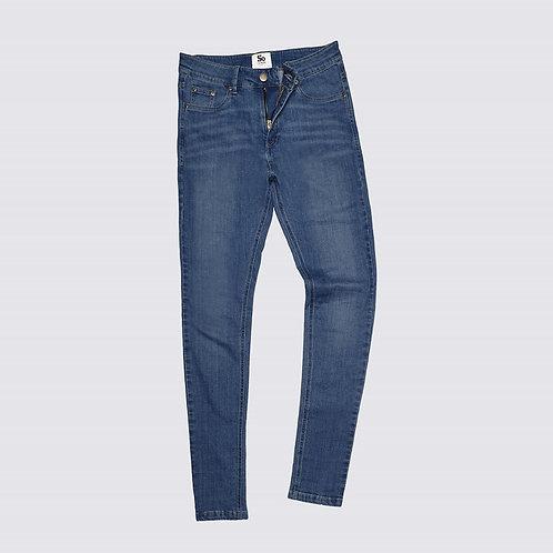Jeans, skinny fit, mid blue wash, Nr. Lara