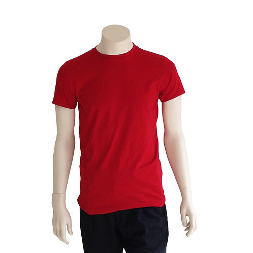 2er Pack T-Shirt Herren rot