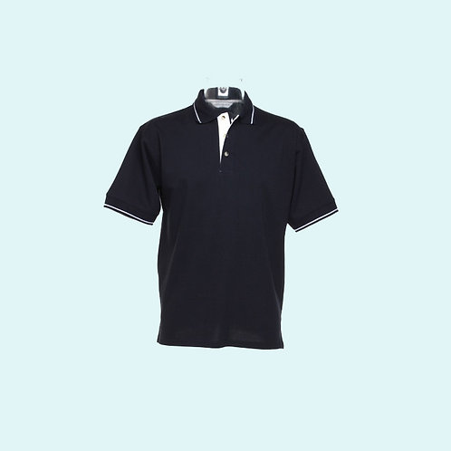 St Mellion polo for men navy/white