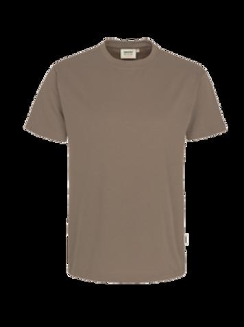 T-Shirt Rund-Hals nougat for men