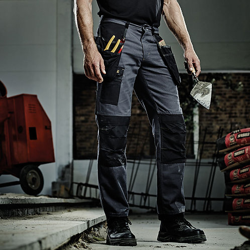 Workline trousers iron/black