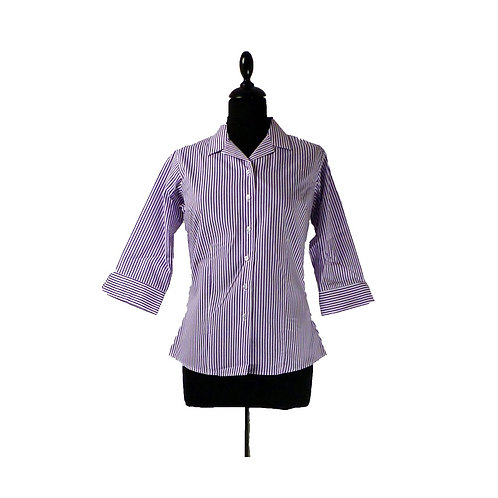 Fitted Blouse with 3/4 Sleeve Twin Pack