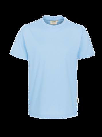 T-Shirt Rund-Hals eisblau for men