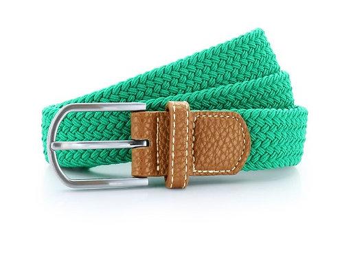 Geflochtener Gürtel kelly green