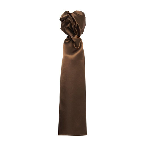 Foulard Satin Feel brown