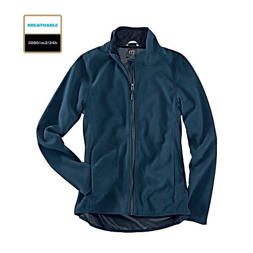 Fleece Jacke Damen blue