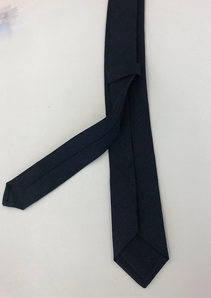 Krawatte dunkelblau, leicht meliert