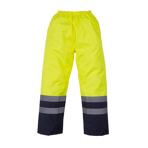 Wasserfeste Hose gelb/navy