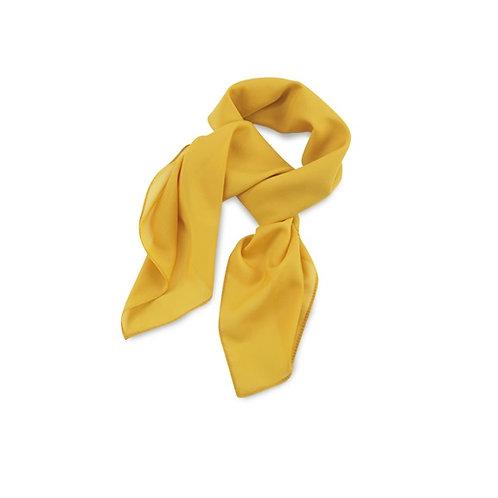 Tuch 75x75cm gelb