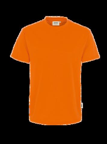 T-Shirt Rund-Hals orange for men