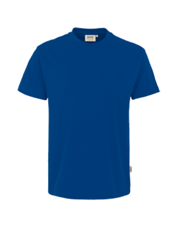 T-Shirt Rund-Hals ultramarinblau for men