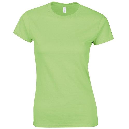 T-Shirt mint green for women