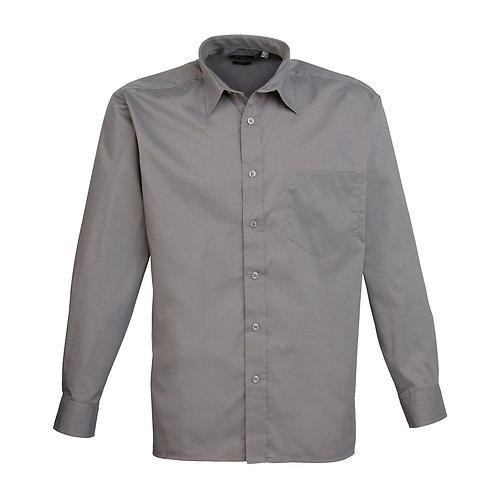 Hemd POPLIN dark grey