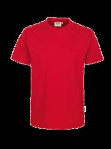 T-Shirt Rund-Hals rot for men