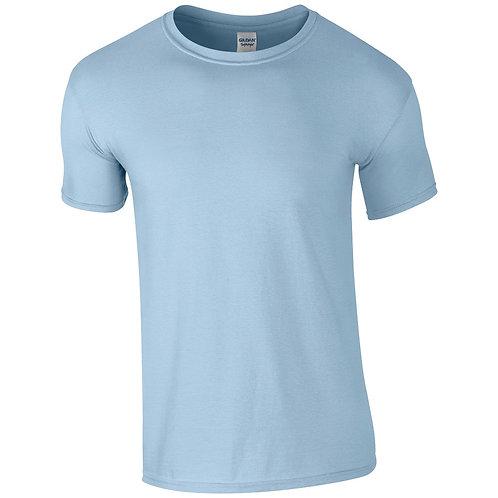 T-Shirt light blue for men