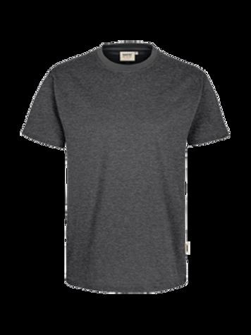 T-Shirt Rund-Hals anthrazit meliert for men